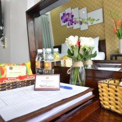 Hanoi Bella Rosa Suite Hotel 3* Люкс с различными типами кроватей фото 3