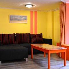Отель Apartamenti Krista Студия с различными типами кроватей
