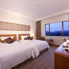 Отель Grand Park Xian Китай, Сиань - отзывы, цены и фото номеров - забронировать отель Grand Park Xian онлайн комната для гостей фото 3
