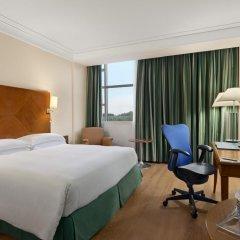 Отель Hilton Rome Airport 4* Гостевой номер с различными типами кроватей фото 2