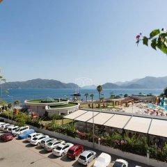 Orkide Hotel Турция, Мармарис - 1 отзыв об отеле, цены и фото номеров - забронировать отель Orkide Hotel онлайн пляж