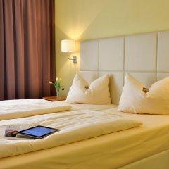 Отель Burghotel Stammhaus 3* Стандартный номер с различными типами кроватей фото 3