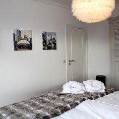 Отель Le 17 Liège сейф в номере