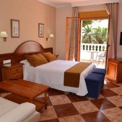 Отель Hostal Cabo Roche Испания, Кониль-де-ла-Фронтера - отзывы, цены и фото номеров - забронировать отель Hostal Cabo Roche онлайн комната для гостей фото 3
