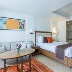 Отель Oakwood Residence Sukhumvit 24 Улучшенная студия фото 4