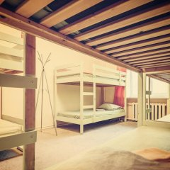 TNT Hostel Moscow Кровать в общем номере с двухъярусными кроватями фото 8