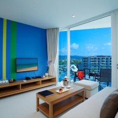 Отель Splash Beach Resort 5* Номер Делюкс с двуспальной кроватью фото 6