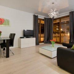 Апартаменты Imperial Apartments - Sopocka Przystań Сопот комната для гостей фото 4