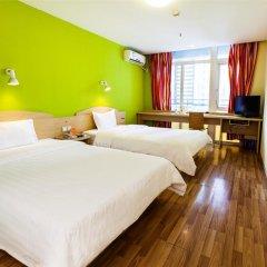 Отель 7Days Inn Xi'an Small Wild Goose Pagoda Nanshaomen Branch Китай, Сиань - отзывы, цены и фото номеров - забронировать отель 7Days Inn Xi'an Small Wild Goose Pagoda Nanshaomen Branch онлайн комната для гостей фото 3