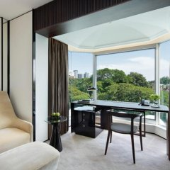 Shangri-La Hotel Singapore 5* Люкс с различными типами кроватей фото 7