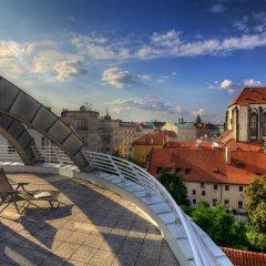 Апартаменты Franciscan Garden Apartments Прага балкон