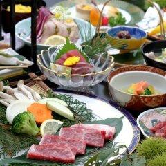 Отель Aso Ikoi no Mura Минамиогуни питание фото 2