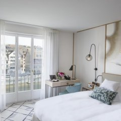 Hotel Storchen 5* Стандартный номер с двуспальной кроватью фото 5