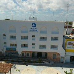 Отель Antillano Мексика, Канкун - отзывы, цены и фото номеров - забронировать отель Antillano онлайн вид на фасад фото 2