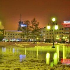 Отель Маяк (корпус Омь) Омск приотельная территория фото 2