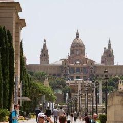 Апартаменты Habitat Apartments Pl. Espana Balconies Барселона приотельная территория
