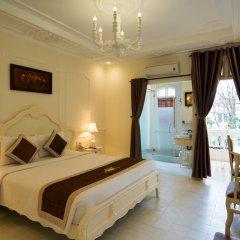 Отель Hoi An Garden Palace & Spa 4* Номер Делюкс с различными типами кроватей фото 8