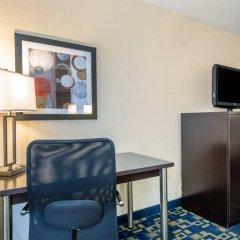 Отель Comfort Inn & Suites near Universal Orlando Resort 2* Стандартный номер с различными типами кроватей фото 8