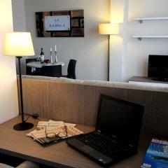 Отель Pierre & Vacances Barcelona Sants Испания, Барселона - 2 отзыва об отеле, цены и фото номеров - забронировать отель Pierre & Vacances Barcelona Sants онлайн удобства в номере фото 2