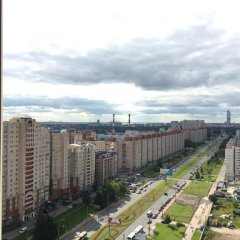 Апартаменты Apartment Kolomyazhskiy Prospekt балкон