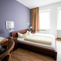 Отель Pension/Guesthouse am Hauptbahnhof Номер Комфорт с различными типами кроватей фото 9