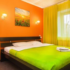 Хостел Миллениум Стандартный номер с двуспальной кроватью фото 4