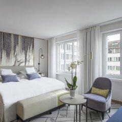 Hotel Storchen 5* Стандартный семейный номер с двуспальной кроватью фото 6