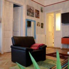 Апартаменты Galeria Apartments Будапешт комната для гостей фото 3