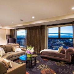 Skycity Grand Hotel Auckland 5* Президентский люкс с различными типами кроватей фото 6