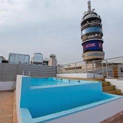 Отель RQ Santiago бассейн