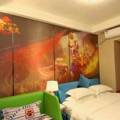 Апартаменты Guangzhou Chimelong Heefun International Service Apartment Студия фото 4