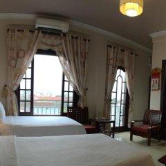 Victory Hotel Hue 3* Номер Делюкс с различными типами кроватей фото 6