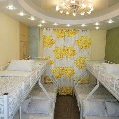 Hostel Berloga Кровать в общем номере с двухъярусной кроватью фото 9