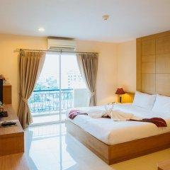 Отель MetroPoint Bangkok 4* Улучшенный номер с различными типами кроватей фото 4