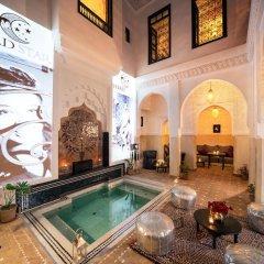 Отель Ночлег и завтрак Riad Star Марокко, Марракеш - отзывы, цены и фото номеров - забронировать отель Ночлег и завтрак Riad Star онлайн бассейн