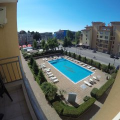 Отель VP Kamelia Garden Studios Солнечный берег балкон