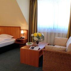 Отель IntercityHotel München 4* Стандартный номер с различными типами кроватей фото 2