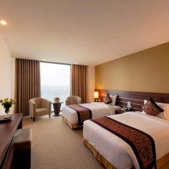 Muong Thanh Grand Nha Trang Hotel 4* Номер Делюкс с различными типами кроватей фото 5