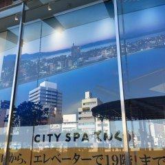 Отель Route-Inn Oita Ekimae Ойта приотельная территория