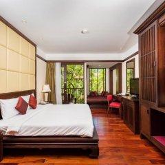 Отель Duangjitt Resort, Phuket 5* Номер Делюкс с двуспальной кроватью фото 16