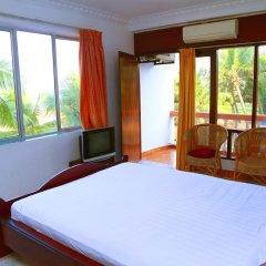 Отель Topaz Beach 3* Улучшенный номер с различными типами кроватей фото 7