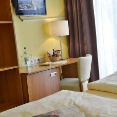 Отель Burghotel Stammhaus 3* Стандартный номер с различными типами кроватей фото 5