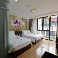 Hanoi Bella Rosa Suite Hotel 3* Представительский номер с различными типами кроватей фото 4
