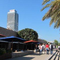 Отель Barceloneta Studios Барселона гостиничный бар