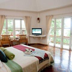 Отель Tanaosri Resort 3* Вилла с различными типами кроватей фото 13