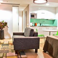 Отель Wenceslas Square Terraces Апартаменты Премиум с различными типами кроватей фото 8