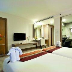 Отель Mercure Koh Samui Beach Resort 4* Улучшенный номер с различными типами кроватей фото 12