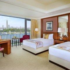 Отель The Nile Ritz-Carlton, Cairo 5* Номер Делюкс с различными типами кроватей