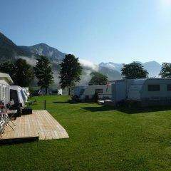Отель Mindresunde Camping парковка