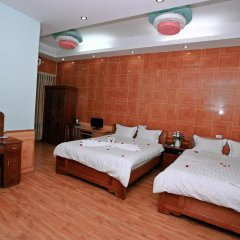 Avi Airport Hotel 2* Стандартный семейный номер с двуспальной кроватью фото 4